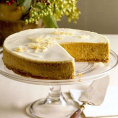 Get the recipe for Pumpkin Cheesecake