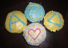 Yummy Alpha Xi Delta cupcakes!