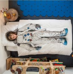 Cool Princess And Astronaut Dress Up Kids Bedding By Snurk | Kidsomania