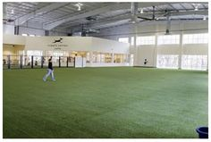 Indoor dog park- we will have 20 acres.  Of course this is dependent on winning the powerball!