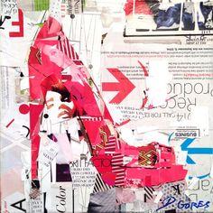 Punch Table Politics, original on canvas by Derek Gores Derek Gores, Cardboard Sculpture, Creative Textiles, Muse Art, Collage Artwork, Photocollage, Mixed Media Art, Mix Media, Altered Art