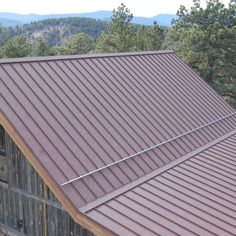 Western Rust   Coated Metals Group, Standing Seam Metal Roof, Rustic,  Mountain Home