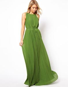 Ted Baker Pleated Maxi Dress
