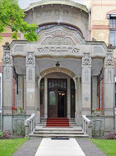 La villa Ammende (Pärnu, Estonie)  ♡ #VisitEstonia #ColourfulEstonia