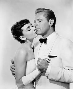 Sabrina- Audry Hepburn and William Holden