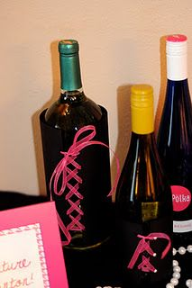 Fun idea for diy wine or beer sleeves ....bachelorette party