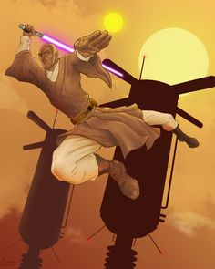 Mace Windu by *TheBionicClam on deviantART