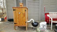 Cedar smokehouse   SmokingMeatForums