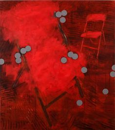 KAPLENIG.com | Richard Kaplenig Acrylic Canvas, Red And White, Black, Abstract Art, Dots, Paintings, Illustration, Creative, Design