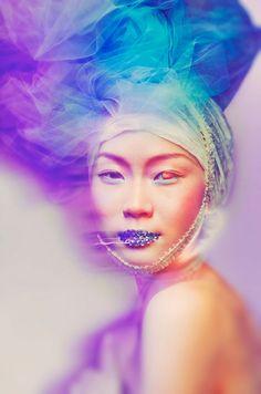 Ella Manor, a contemporary artist and fashion photographer. S)