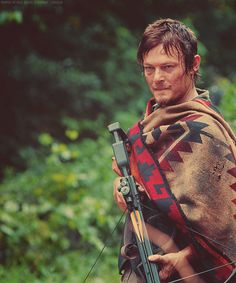 Dude's in a dirty poncho...still looks good.  What gives.