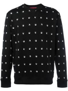 McQ Alexander McQueen swallow intarsia jumper