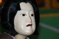 Japanese theatre puppet - doll