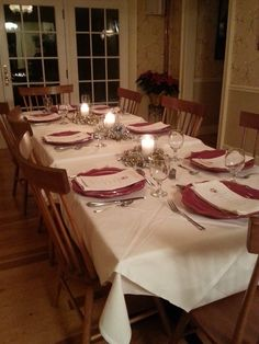 Where will you be for New Year's Eve this year? I'll be hosting another New Year's Eve dinner at the inn, and I'd love for you to join. Find my rooms and availability for the upcoming holidays by visiting: