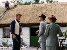 'White O'Morn' cottage, 1951... movie The Quiet Man with John Wayne ....Ireland