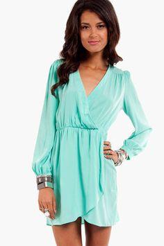 It's A Wrap II Dress $36 at www.tobi.com