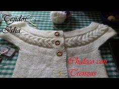 Baby Knitting, Crochet Baby, Knit Crochet, Knitting Videos, Beautiful Blouses, Knit Fashion, Blouse Designs, Sweater Cardigan, Knitting Patterns