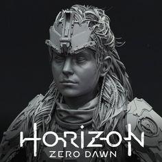 Horizon Zero Dawn - Aloy Shield-Weaver Costume, Arno Schmitz on ArtStation at https://www.artstation.com/artwork/ylAGQ