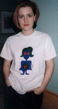 A throwback to before the Doodle4NF days, Gillian wears a shirt with her own drawing which was sold to raise money for the NF Network. To learn more about the NF Network, visit their website. Want this Gillian drawing for your very own on a coffee mug, hoodie or t-shirt? Visit our Cafepress store! All proceeds benefit the NF Network. And hey - are you near the Chicago area? Do you like fundraising walks? Then come join in on Saturday, August 23rd! More info here