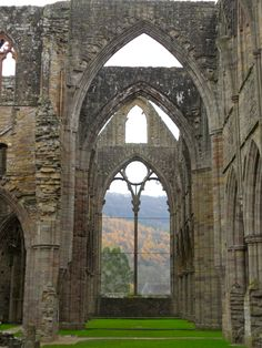 Tintern Abbey made famous by William Wordsworth.