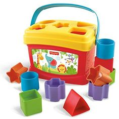 Fisher-Price Baby's First Blocks: Amazon.co.uk: Toys & Games