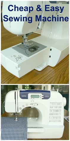 This is my sewing machine. I love it so much I wrote a review. It's affordable and a great machine!