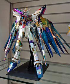 PG 1/60 Strike Freedom Gundam - Painted Build