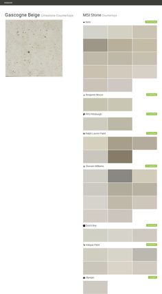 Gascogne Beige. Limestone Countertops. Countertops. MSI Stone. Behr.  Benjamin Moore.