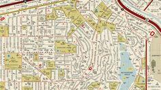 Auf dieser Karte von Los Angeles verstecken sich Namen bekannter Filme