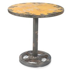 Moes Home Collection Wheel Round Pub Table   from hayneedle.com