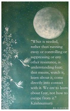What is needed rather than running away our controlling or suppressing or any other resistance, is understanding fear http://letmereach.com/ Ready to leave abuse and misery behind? Kim Saeed integrates emotional recovery, physical recovery, and spiritual recovery to help you heal from narcissistic abuse and rebuilt your life. Detach from love that hurts. Gain confidence, rediscover your passion, feel peace, add years to your life. #DomesticAbuse #DomesticViolence #NarcissisticAbuse…
