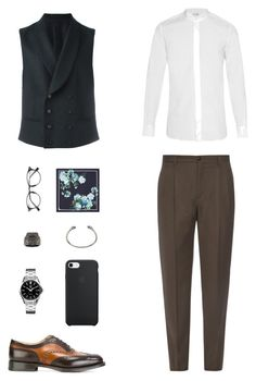 """House of Madalani"" by houseofmadalani on Polyvore featuring Giorgio Armani, Yves Saint Laurent, Church's, Z Zegna, TAG Heuer, Dita, Gucci, Stephen Webster, Alexander McQueen and men's fashion"
