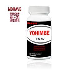 Yohimbe Bark 2000 mg Extract  Male Sexual Health 60 Capsules HOT SALE 2016