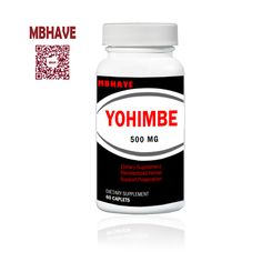 Yohimbe Bark 2000 mg Extract  Male Sexual Health 60 Capsules HOT SALE 2016