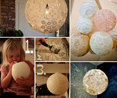 Doily Lamp Will Look Beautiful In Your Home | The WHOot
