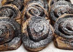 Csupa csoki Dia Wellness kakaós csiga: CSAK 12 g CH/db! Stevia, Muffin, Paleo, Wellness, Cookies, Chocolate, Breakfast, Cukor, Food