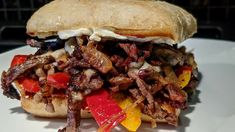 Philly Cheese, Pulled Pork, Cheesesteak, Ethnic Recipes, Food, Shredded Pork, Essen, Meals, Yemek