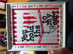 DIY valentines day gift to BF