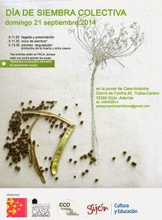 I HAVE A DREAM project inicia con un DIA DE DE SIEMBRA COLECTIVA en la pumar de PACA: domingo 21 de septiembre,  inicio h 11.00  pero con relax. #gijon   evento en fb:  https://www.facebook.com/events/767265843340479/ info:http://pacaproyectosartisticos.com/living-landscape/proyectos-en-curso/i-have-a-dream/