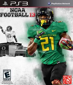 LaMichael James is Romeo's favorite running back in college football history and he would love to have him in the cover for this game.