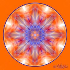 Mandala č.8 - Povzbuzení Mandala, která nás odporuje v dalším kroku, navozuje pocit bezpečí a klidu v okamžiku, kdy potřebujeme udělat akci, která je už mimo naši zónu pohodlí, když se vydáváme za hranice svých zvyklosí do neprobádaného prostoru. počítačová grafika, rozměr 30x30 cm, laminováno jako ochrana proti UV záření dodáváno bez vodoznaku