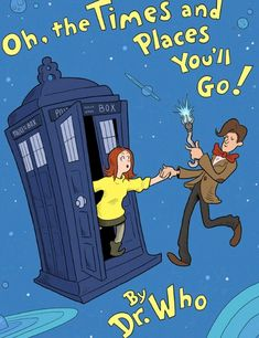 """HE'S NOT """"DR WHO"""", HE'S """"THE DOCTOR""""!!! Otherwise, a very good picture:)"""