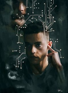 Mr robot fanart by past on tumblr