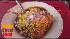 make samosa chaat indian street food style - best samosa recipe video - ...