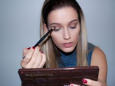 Dewy pink glam, for an everyday look. Everyday Look, Palette, Makeup, Hair, Beauty, Fashion, Make Up, Moda, La Mode