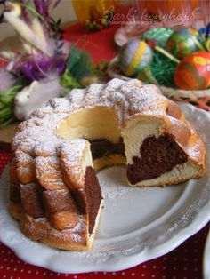 Hungarian Cake, Hungarian Recipes, Sweet Desserts, Sweet Recipes, Cake Recipes, Angel Cake, Coffee Cake, Easy Meals, Food And Drink