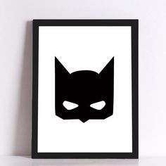 "BATMAN THEMED Quotes In Canvas Art | Choose SMALL 8x10"" or LARGE Poster Size 24x35"""