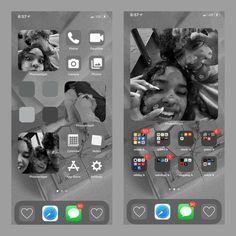 Iphone Design, Ios Design, Wallpapers Rosa, Iphone Wallpaper Ios, Ipad Hacks, Apple Watch Wallpaper, Iphone App Layout, Homescreen, Organization Ideas
