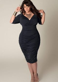 Dresses for plus size hourglass figure - http://pluslook.eu/dresses/dresses-for-plus-size-hourglass-figure.html. #dress #woman #plussize #dresses