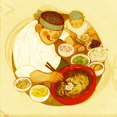 Artist Pens Heartwarming, Illustrated Guide to Ramen |Foodbeast